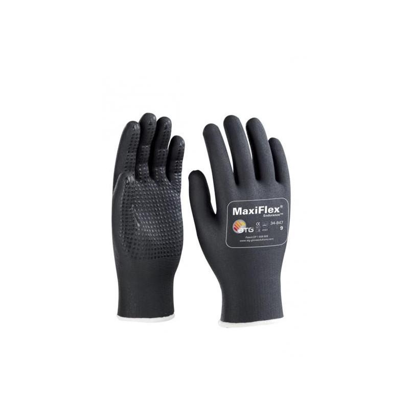 gant noir manutenion lourde